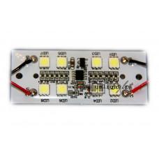 Светодиодный стробоскоп SMD 5050 8 Led F 12V IP65 White