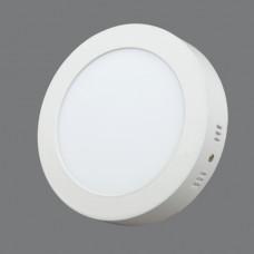 702R-12W-4000K Светильник накладной,круглый,LED,12W